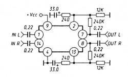 Предварительный усилитель KA2226