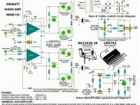 Усилитель звука мощностью 600Вт