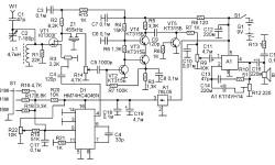 Схема радиоприемника КВ диапазона
