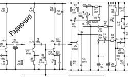 Транзисторный приемник диапазона 1,45-4 МГЦ