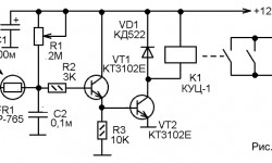 Три простых устройства на 2-х транзисторах