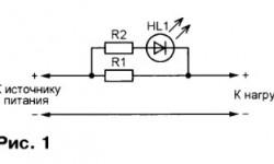 Экономичные светодиодные индикаторы тока