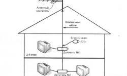 Почему не работает антенный усилитель ТВ