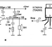 Ремонт усилителя в домашних условиях: TDA2003, К174УН7, и т.д.