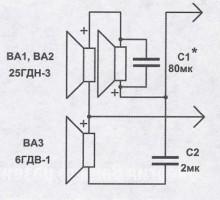 Малогабаритные АС со сдвоенными динамическими головками