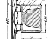 Малогабаритные электродинамические громкоговорители