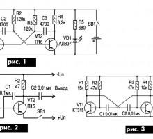 Самодельные генераторы НЧ для настройки усилителей НЧ и приемников