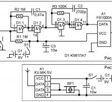 Сигнализатор на радиомодулях