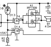 Громкий звуковой сигнализатор
