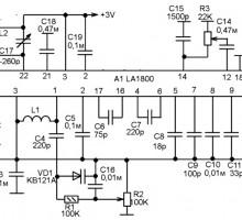 Радиоприемник на микросхеме LA1800