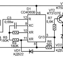 Таймер для подогревателя двигателя с запуском по мобильному телефону