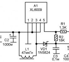 Доработка повышающего преобразователя на XL6009