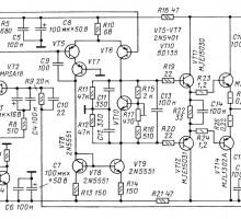 Ремонт звуковой аппаратуры Радиотехника У-7101С