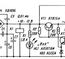 Собираем с автоматическим включением блок питания 6 В для радиоприемника