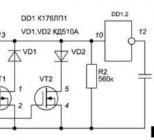 Широтно-импульсный модулятор для преобразователя напряжения