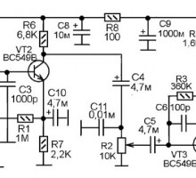 АМ приемник на пяти транзисторах