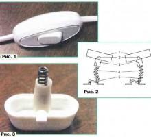 Ремонт сетевого выключателя