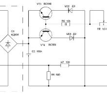 Регулятор мощности для лампы накаливания