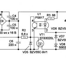 Доработка сетевого адаптера Panasonic PQLV207CE