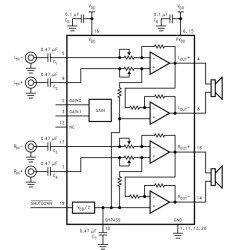 LM4874MH микросхема