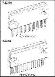 TA8225 микросхема