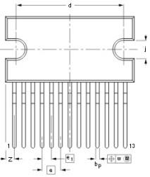 TDA1518BQ усилитель