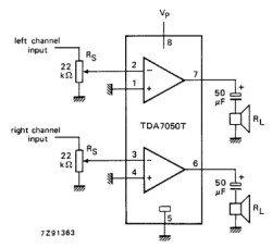 TDA7050T