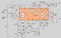 TDA1016 микросхема