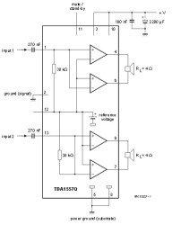 TDA1557Q схема