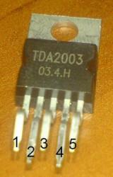 TDA2003 усилитель низкой частоты