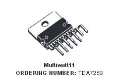 TDA7269 усилитель