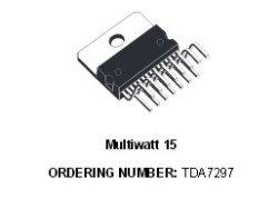 tda7297 микросхема звука