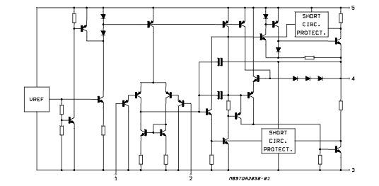 Схема усилителя двухполярным питанием фото 23