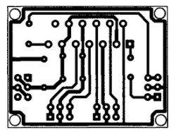 pechatnaja plata usilitelja TDA1552
