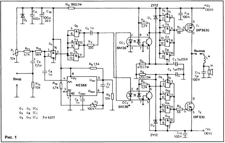 функциональным генератором