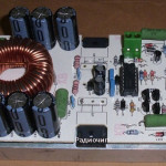 Усилитель звука класса D 1250Вт