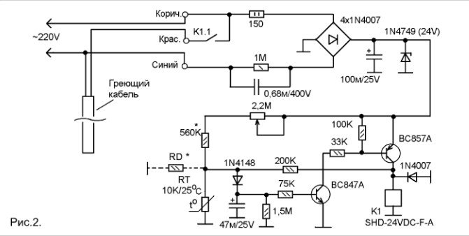 Схема и подключение датчика освещения блог самэлектрик. Ру.