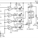 Четырехпозиционный электронный датчик системы охлаждения автомобиля
