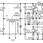 Питание от электросети автомагнитолы или автомобильной радиостанции