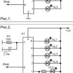 Подключение реле к светодиодному индикатору