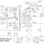 Блок питания спутникового ресивера GS-8300(M,N) и DRS-8300