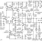 Усилитель мощности низкой частоты на полевых транзисторах