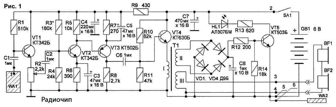 Детектор для обнаружения скрытой проводки своими руками 88