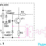 Люминесцентная лампа КЛЛ с выключателем