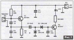 как проверить кварцевый резонатор частоты