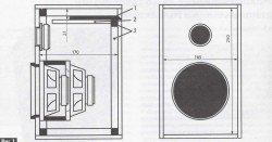 расчет закрытого акустического ящика