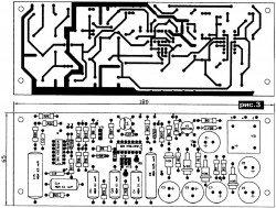 Монтажная плата регулятора температуры инкубатора
