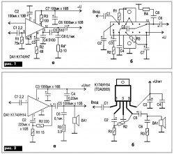 схема умзч - усилитель мощности звуковой частоты