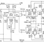 Ламповый усилитель на выходном каскаде 6П3С