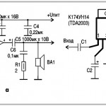 Ремонт УМЗЧ на микросхемах TDA2003, К174УН7